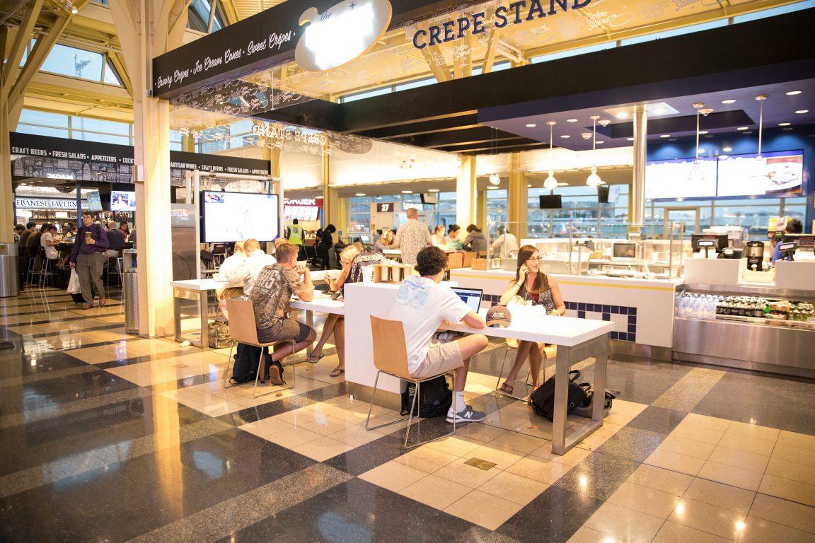 Food Hall Kitchen Ventilation Solutions