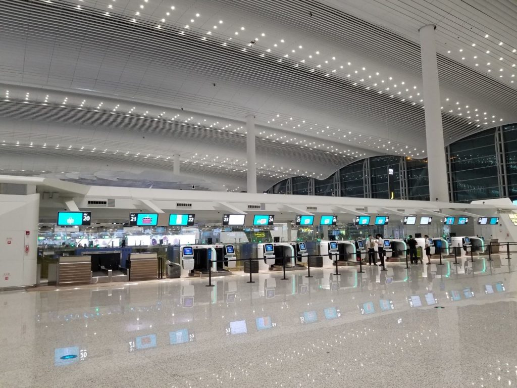 Airport in China
