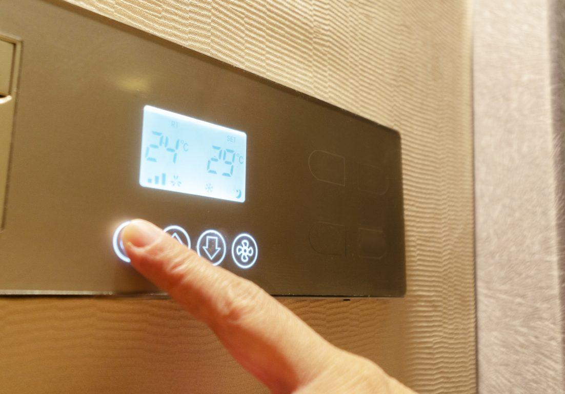 Hotel ventilation control