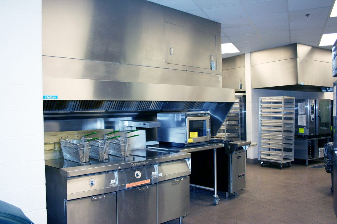 Halton Solutions for K-12 kitchen ventilation