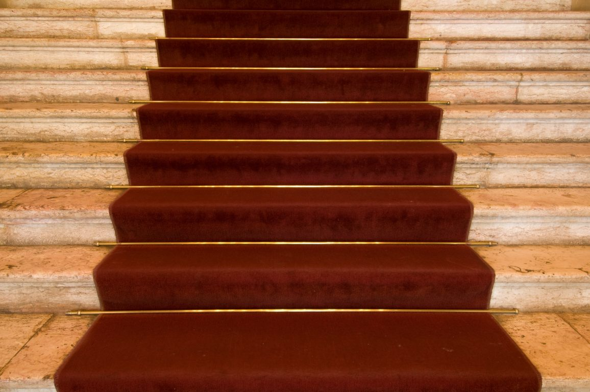 Stairs in opera house