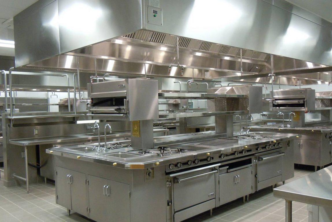 Teaching Kitchen Ventilation Exhaust Hoods