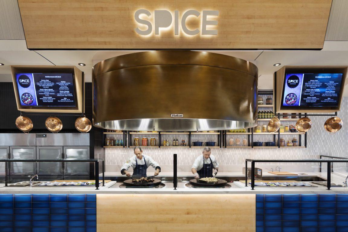 Hilton Hotel restaurant kitchen ventilation