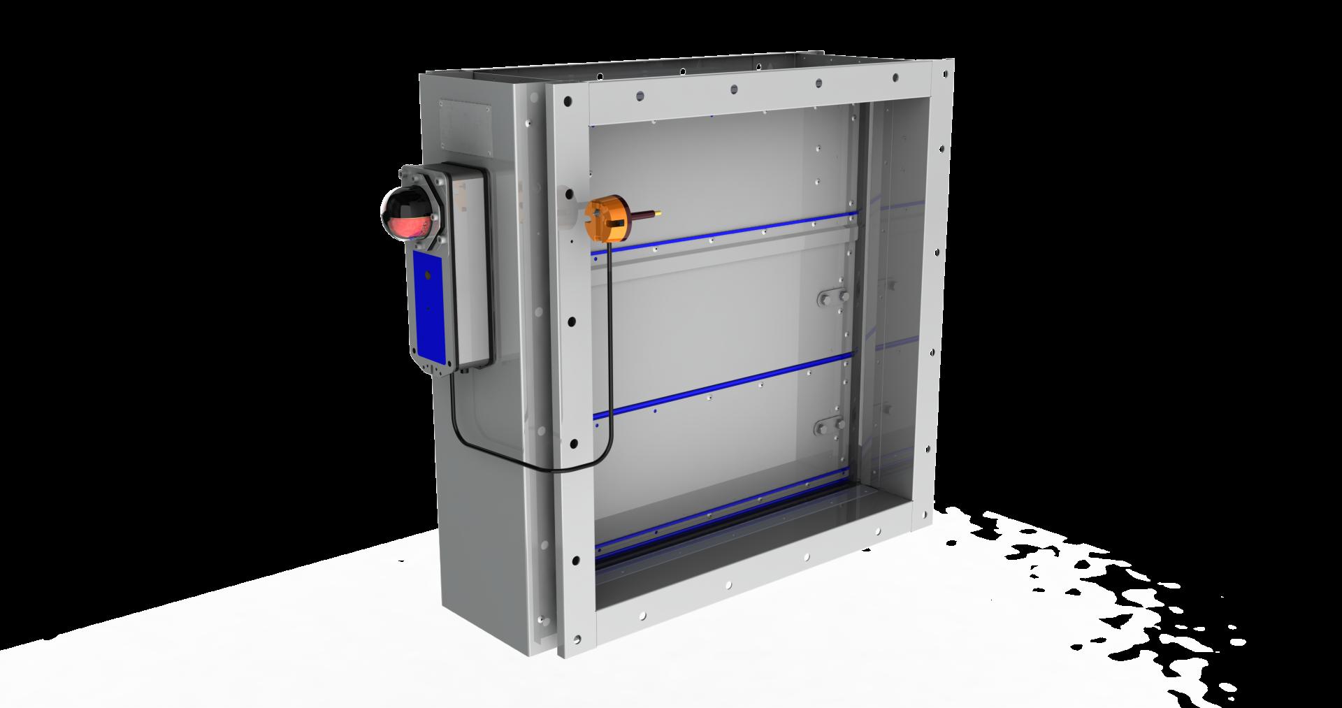 FCE - Fire damper (EI 60 S)