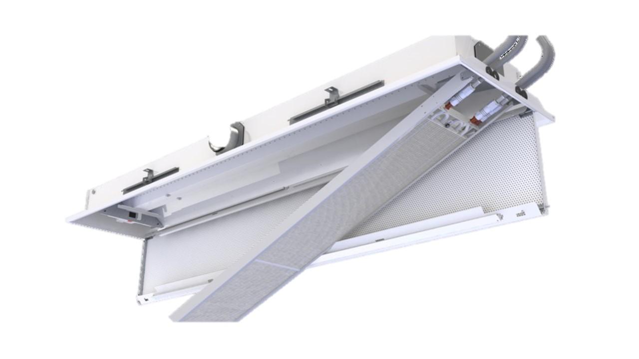 Halton Vita VPR hygienic chilled beam