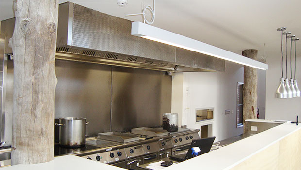 Ceres has chosen Halton Solutions for the ventilation of their kitchen