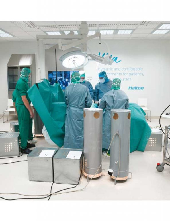 Simulated operation in Halton Kausala Innovation Hub