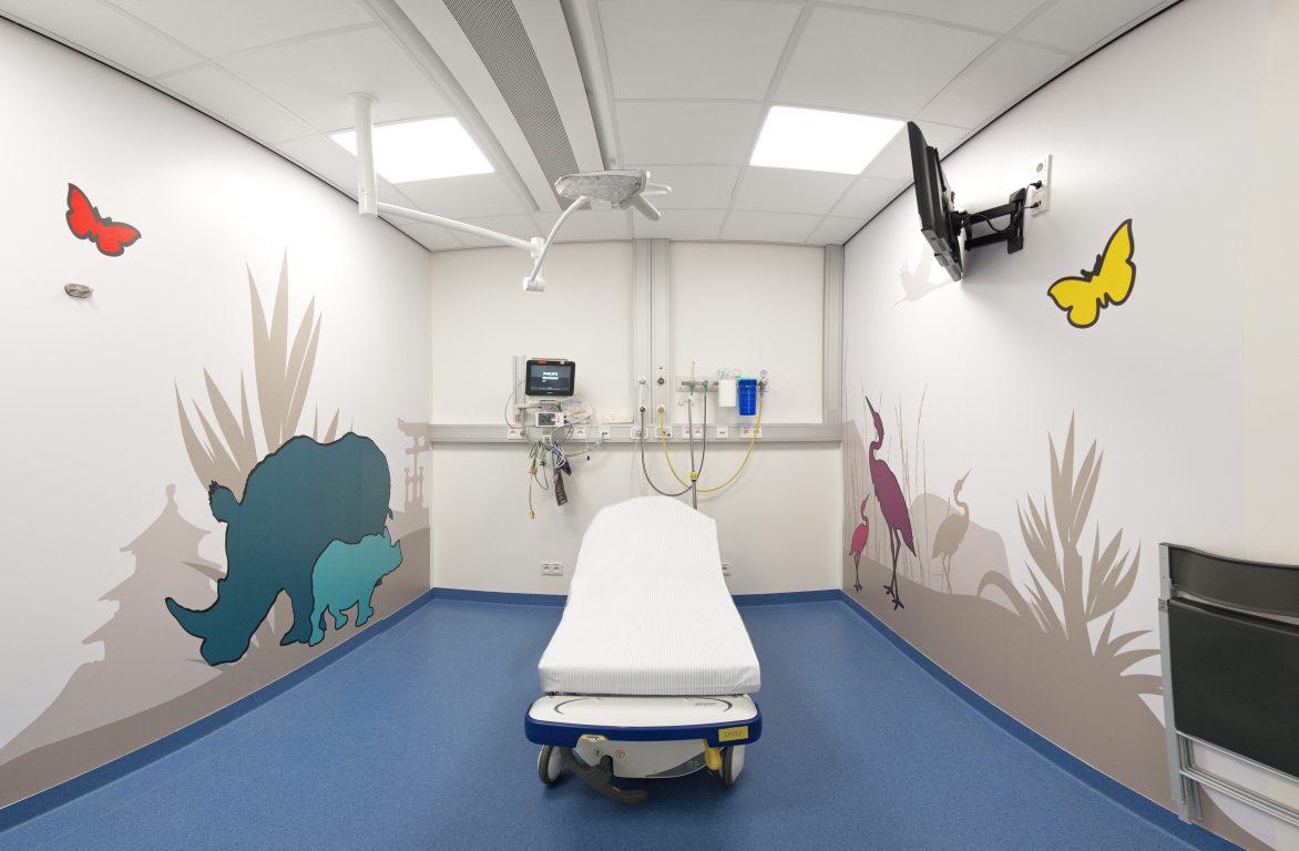 AZ Maria Middelares Hospital, hygienic chilled beams