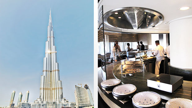 Armani Hotel, Burj Khalifa Tower has chosen Halton Solutions for the ventilation of their kitchen