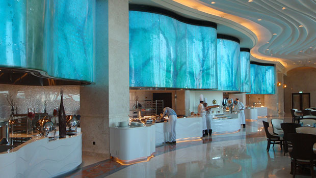 St Regis Saadiyat Island Resort has chosen Halton Solutions for the ventilation of their kitchen