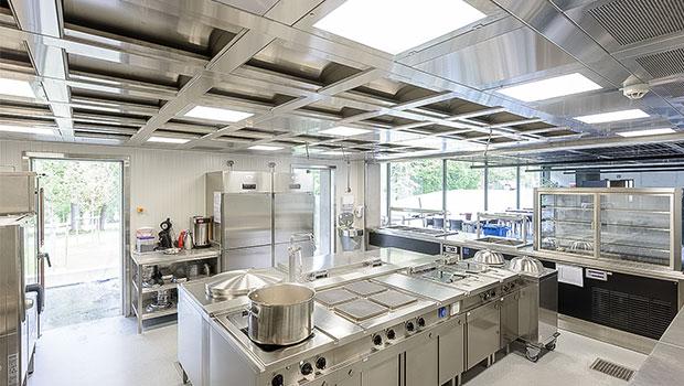 La Fraineuse Spa has chosen Halton Solutions for the ventilation of their kitchen