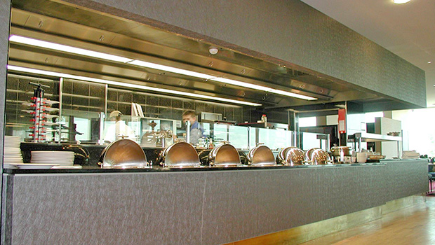 Hilton Zürich Airport has chosen Halton Solutions for the ventilation of their kitchen