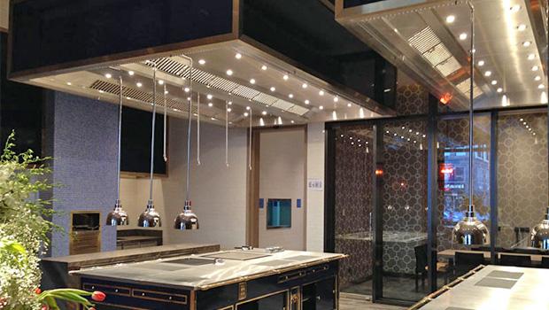 Waldorf Astoria Beijing has chosen Halton Solutions for the ventilation of their kitchen