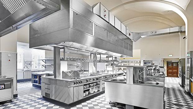 Schlosshotel Kronberg has chosen Halton Solutions for the ventilation of their kitchen