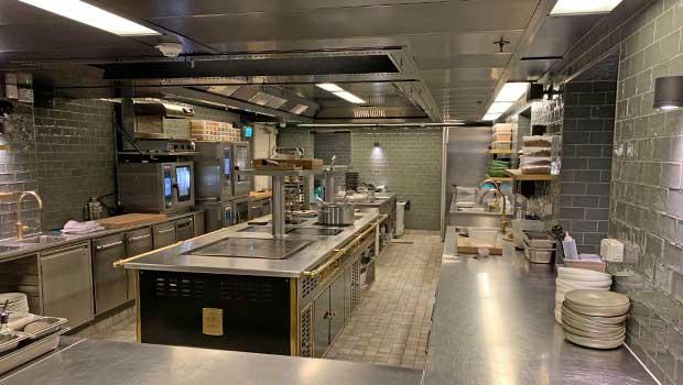 Hotel skt. Annae Copenhagen has chosen Halton Solutions for the ventilation of their kitchen