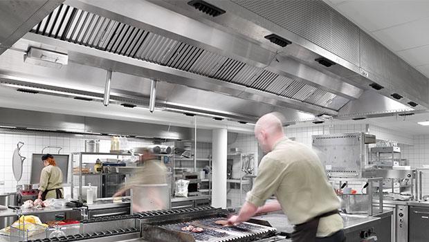 Lalandia Billund has chosen Halton Solutions for the ventilation of their kitchen