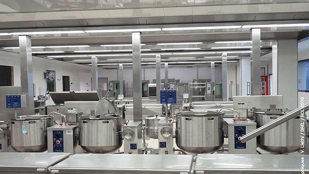 Hospices Civils de Lyon (HCL) has chosen Halton Solutions for the ventilation of their kitchen