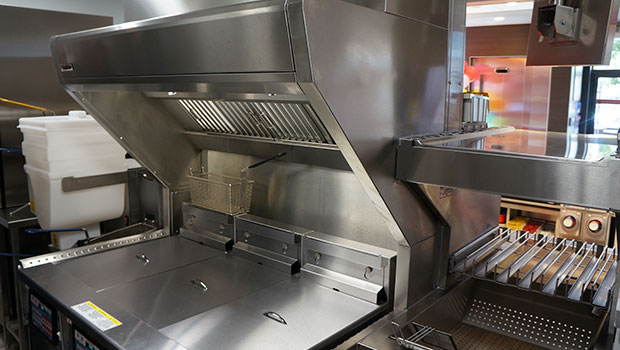 KFC Chartres has chosen Halton Solutions for the ventilation of their kitchen