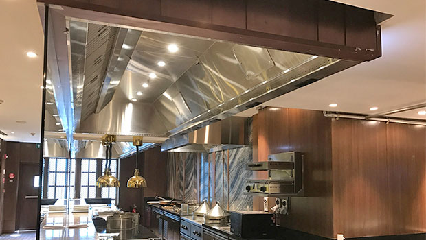 ITC Grand Chola Chennai has chosen Halton Solutions for the ventilation of their kitchen