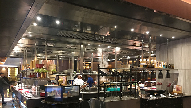 Shangri La Bengaluru Bengalore has chosen Halton Solutions for the ventilation of their kitchen