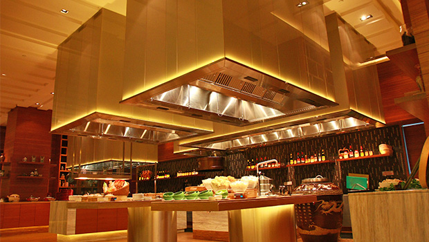 Double Tree Johor Bahru has chosen Halton Solutions for the ventilation of their kitchen