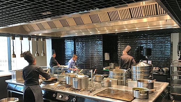 Four Seasons Hotel Kuala Lumpur has chosen Halton Solutions for the ventilation of their kitchen