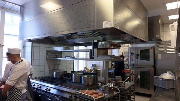 Belvedere Restaurant Warsaw has chosen Halton Solutions for the ventilation of their kitchen