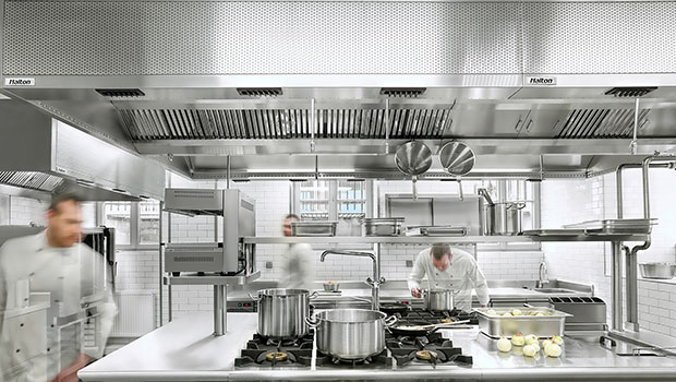 PG4 Brewery at Central Hotel Gdańsk has chosen Halton Solutions for the ventilation of their kitchen