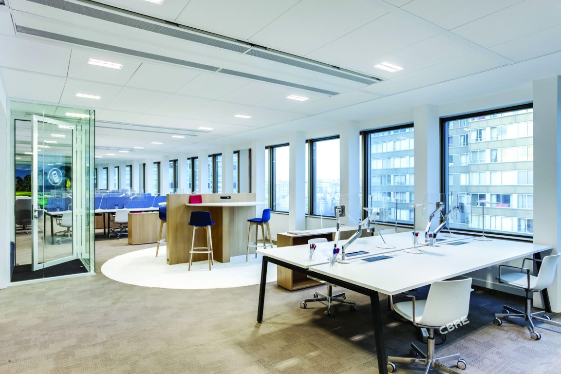 Greenelle offices, open offices