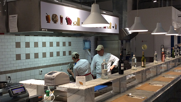 Eataly Istanbul has chosen Halton Solutions for the ventilation of their kitchen