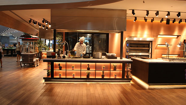 Istanbul Airport has chosen Halton Solutions for the ventilation of their kitchen