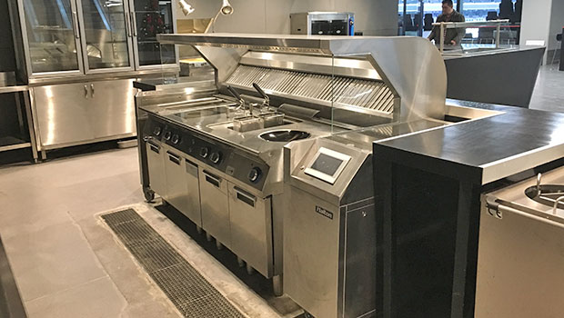 Vodafone Arena Besiktas Istanbul has chosen Halton Solutions for the ventilation of their kitchen