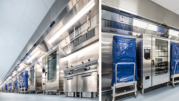 InterContinental The O2 London has chosen Halton Solutions for the ventilation of their kitchen