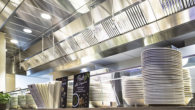 Vapiano Manchester has chosen Halton Solutions for the ventilation of their kitchen