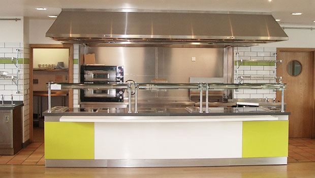 Wimbledon London has chosen Halton Solutions for the ventilation of their kitchen