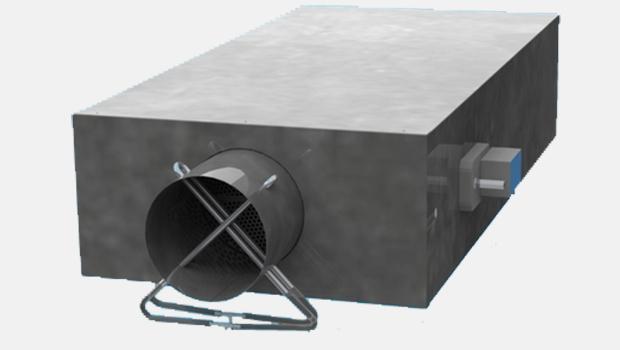 Airflow control unit Halton BOX