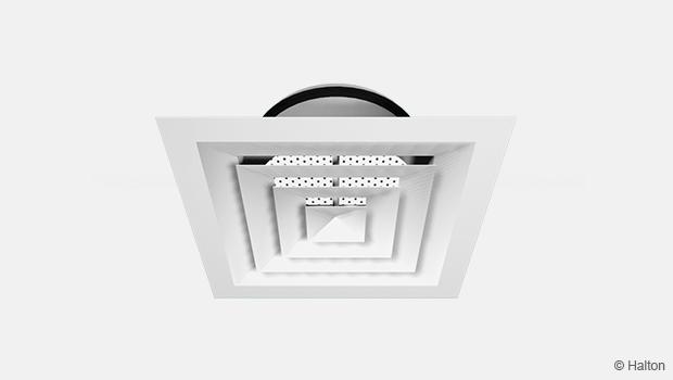 Aluminium conical diffuser