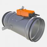 Circular EI 120 S fire damper