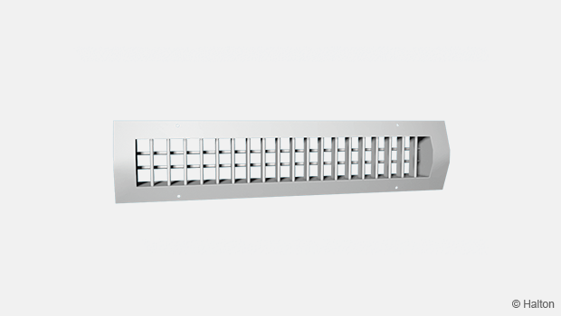 Grille for circular duct