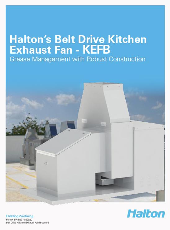 Halton Kitchen Exhaust Fan - KEF Brochure