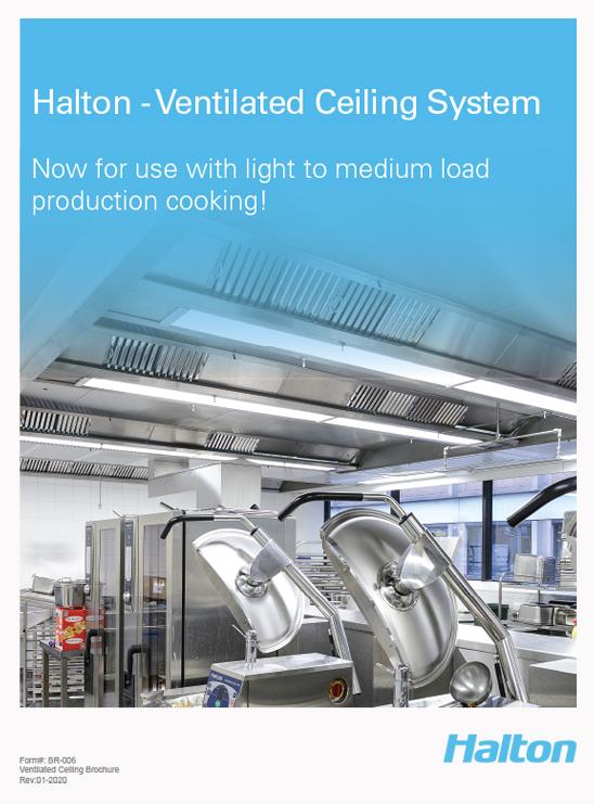 Halton Ventilated Ceiling Brochure - VCS