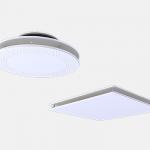 Thin ceiling diffuser