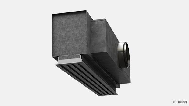 VAV linear diffuser