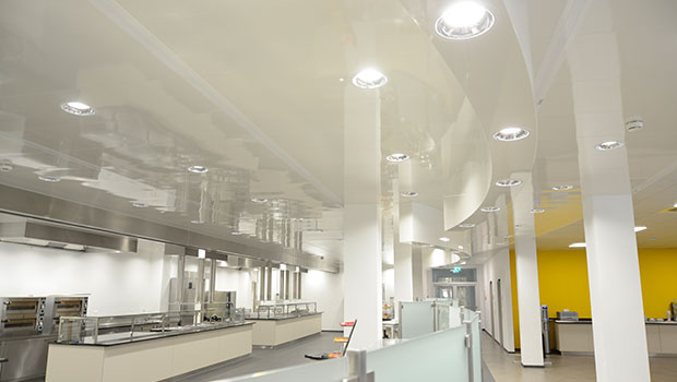 KCP kitchen suspended ceiling