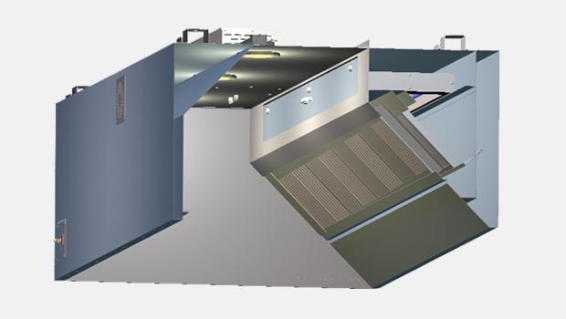 Halton KVE-UV UV exhaust hood