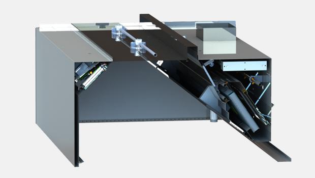 Halton KVE-WW-UV water wash UV exhaust hood