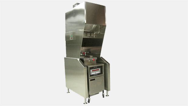 Halton KVH Freestanding kiosk ventilation system