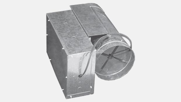 Halton KVV-R Rectangular VAV Box