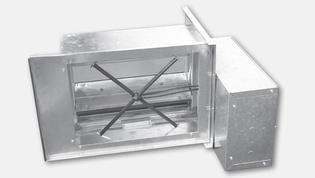 Halton KVV-S square VAV box