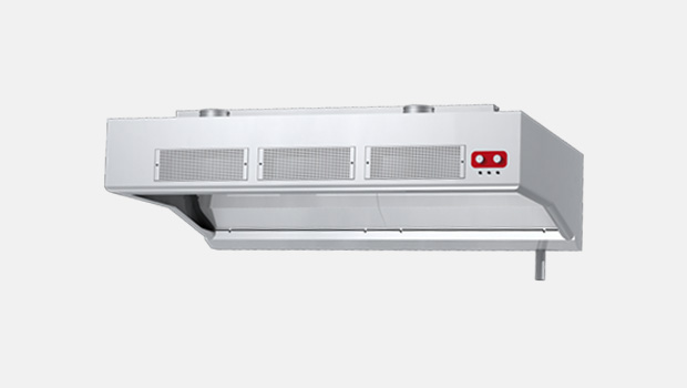 KWT galley water wash hood with supply air